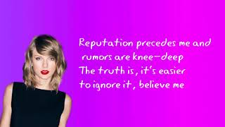Taylor Swift Ft. Ed Sheeran & Future - End Game | LYRICS/ LYRIC VIDEO | REPUTATION