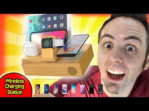 best-bamboo-charging-station-for-multiple-devices?- -chgeek-wireless-dock-unboxing-&-initial-review