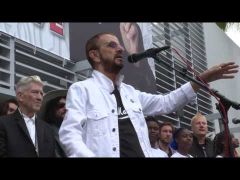 Watch Ringo Starr's 11th Annual 'Peace and Love' Birthday Celebration
