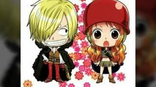 Nami x Sanji  One Piece