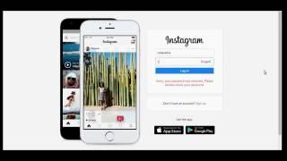 Log In To Instagram Using Web Browser - Instagram Web Login