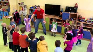 How to teach Kids  | from a Prague kindergarten, part 1 | En...