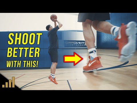 How To: Shoot A Basketball Better For Beginners! The 'Hop' Versus The '1-2 Gather' Shooting Footwork