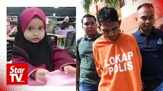 Unemployed man charged with murder of 3-year-old Nur Aisyah