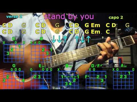 stand by you Rachel Platten guitar chords