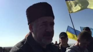 Чубаров: крымчане будут ездить в Украину скупаться в продуктовых хабах