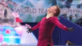 Евгений Семененко Произвольная программа Мужчины Командный чемпионат мира по фигурному катанию 20