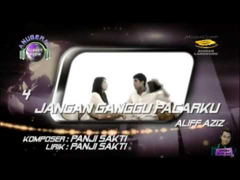 Lagu Terbaik Singapura - Jangan Ganggu Pacarku - Aliff Aziz [Anugerah Planet Muzik 2013]