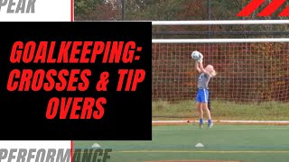 Goalkeeper Training: Crosses and Tip Overs