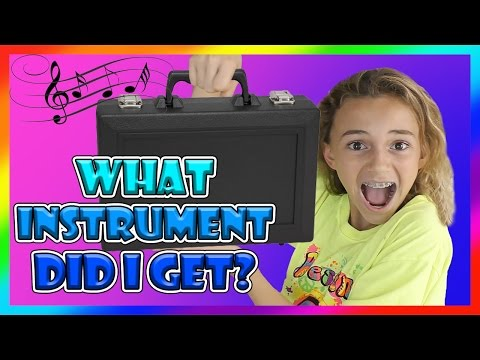 WHAT INSTRUMENT AM I PLAYING? | We Are The Davises