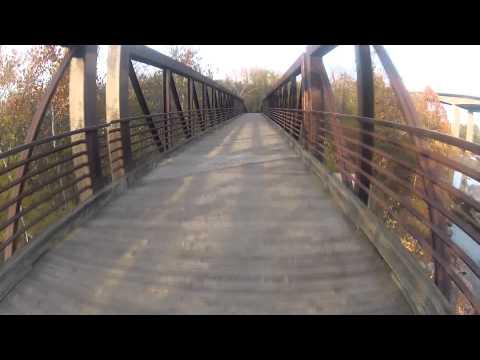 buttermilk trail + Northbank trail in richmond VA 1080p
