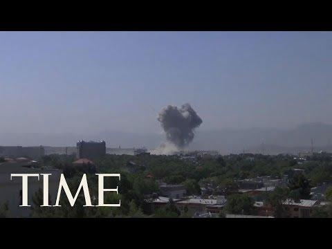 Powerful Bomb Blast Rocks Afghanistan's Capital Kabul, Killing 1 And Wounding Over 100 | TIME