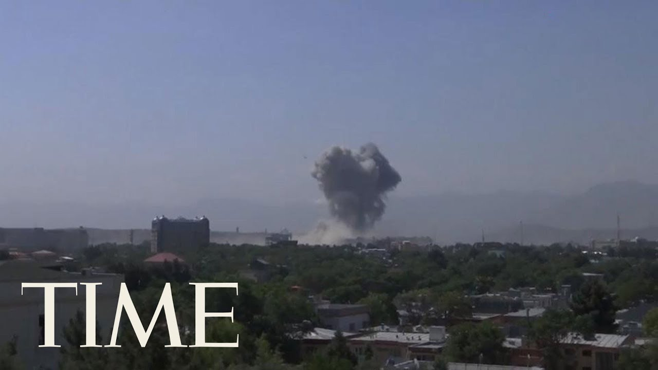 Powerful Bomb Blast Rocks Afghanistan's Capital Kabul, Killing 1 And Wounding Over 100 | TIME