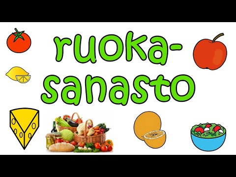 Ruokasanastoa from YouTube · Duration:  6 minutes 52 seconds