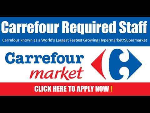 Carrefour Hypermarket Job Vacancies In Dubai 2019 Youtube