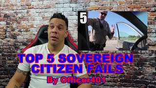 Top 5 Sovereign Fails by Officer401 REACTION!!!