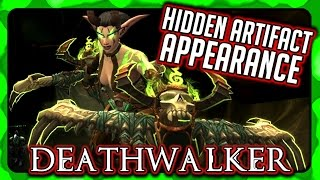 WOW 🌟 GUISE OF THE DEATHWALKER 🌟 How To Get the Hidden Artifact Appearance, Havoc Demon Hunter