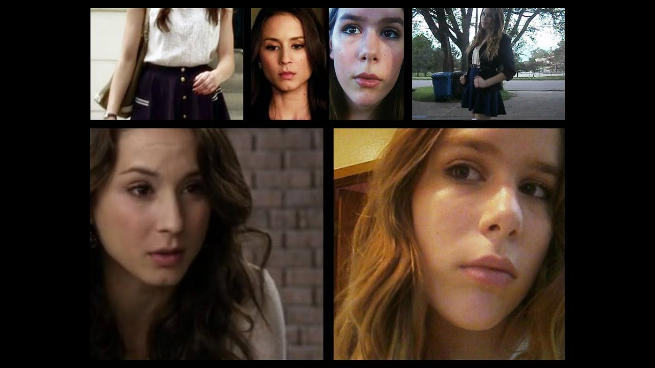 pretty little liars spencer hastings hair and makeup