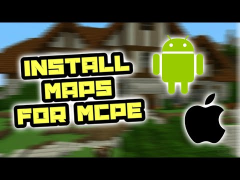 How To Install Maps In Minecraft PE 2019! (Android & IOS)