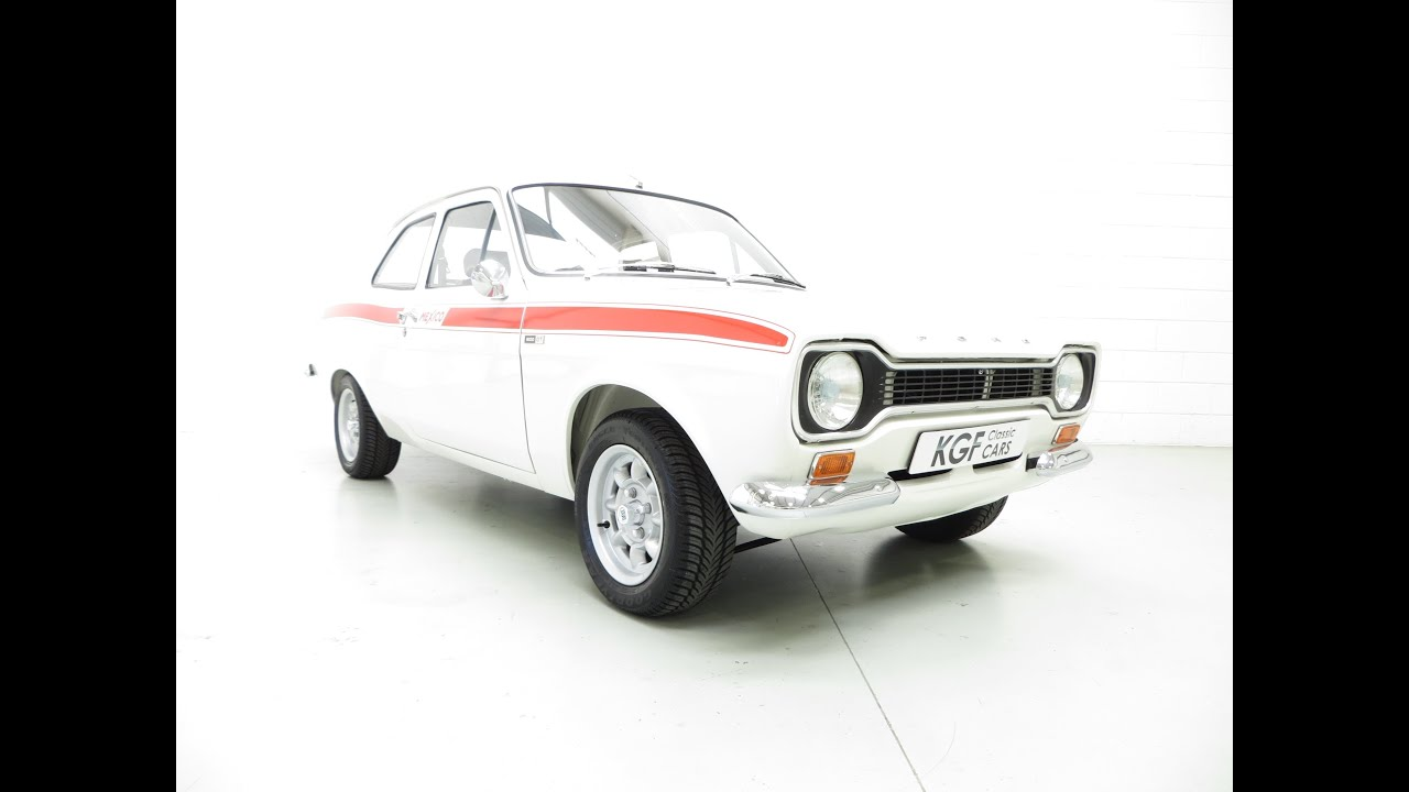 A Genuine AVO Mk1 Ford Escort RS Mexico in Impeccable Award ...