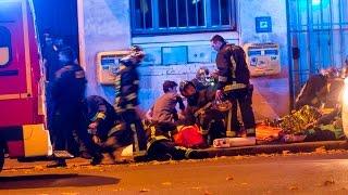 Attentat à Paris : Fusillades, prise d'otages, explosion  13/11/15