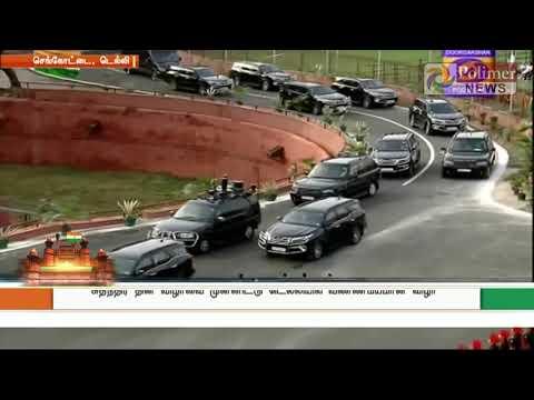 Prime Minister Narendra Modi flagged the national flag at Red Fort