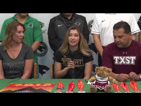 PSJA Memorial ECHS Senior Venessa Martinez Signs Letter of Intent to Texas State University