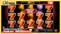Joker Millions #1 Online Free Slot game[쇠독e]-조커밀리언즈 Super Mega Big Win!!!
