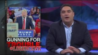 #LoserCenk accuses Donald Trump of suggesting assasination of Hillary Clinton
