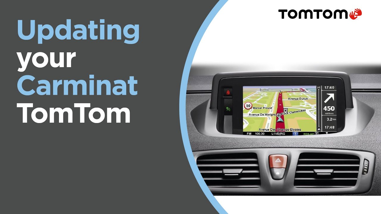 comment cracker une carte tomtom Updating your Carminat TomTom   YouTube