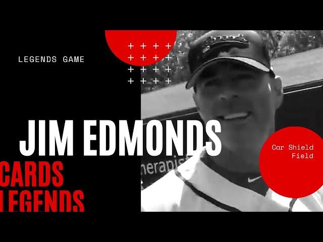 Jim Edmonds, Cardinals Legends, draw huge crowds at first St. Louis Legends Game