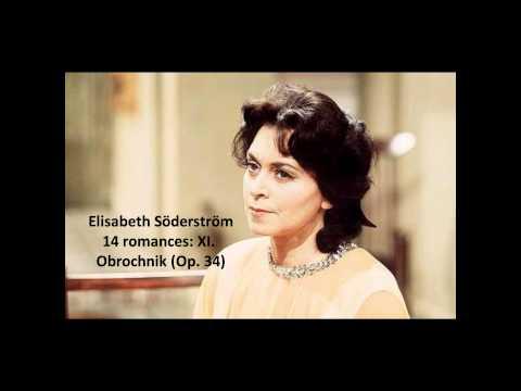 "Elisabeth Söderström: The complete ""14 romances Op. 34"" (Rachmaninov)"