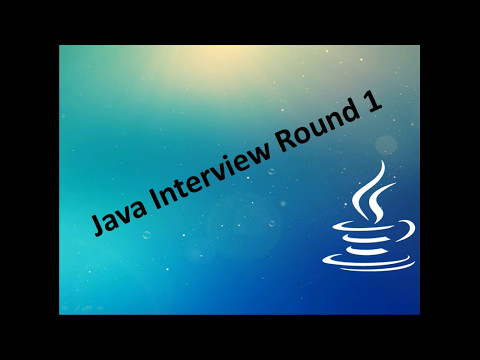Java Interview Experience  Java Questions & Answers  J P Morgan