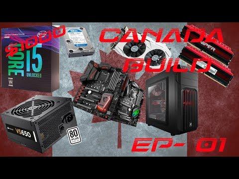 1000$ Gaming Pc Build (Canada)