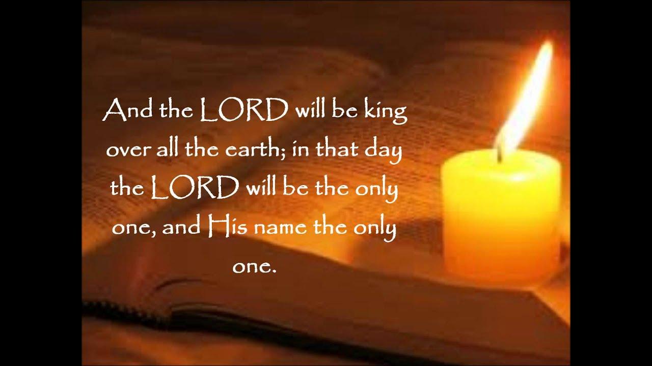 Daily Bread Zechariah 14 9 Nasb Youtube
