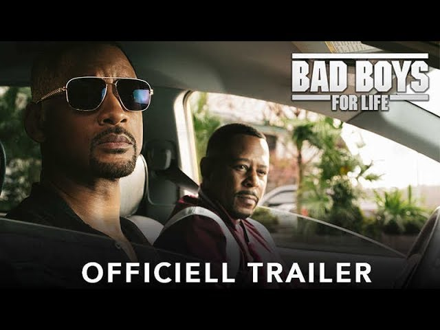 BAD BOYS FOR LIFE - Officiell trailer