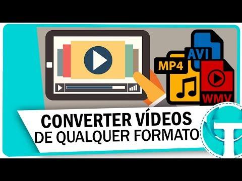 Como converter vídeos para qualquer formato - MP4, AVI, MP3, WMV ou qualquer outro