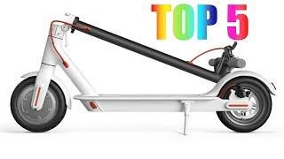 Top 5 Best Electric Scooters On Amazon 2018