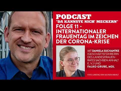 Podcast - Folge 11 - Frauentag im Zeichen der Corona-Krise (mit Daniela Suchantke)