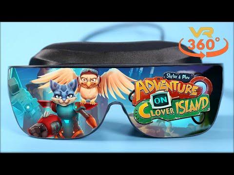 Skylar & Plux: Adventure On Clover Island VR 360° 4K Virtual Reality Gameplay