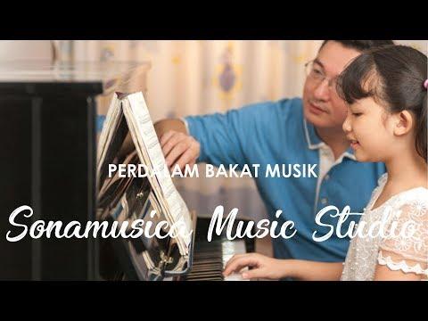 Perdalam Bakat Musik di Sonamusica Music Studio Bandung - SANTAI YUK
