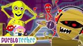 Cinco Esqueletos De Colores Salieron Una Noche Canciones Infantiles Pueblo Teehee Youtube