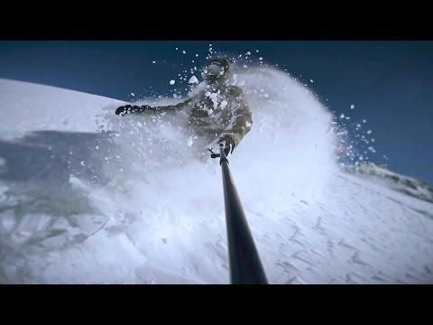 SNOWBOARD FREERIDE CERVINIA POWDER 2016