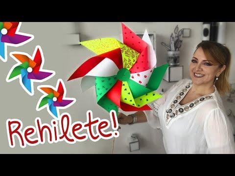 Cómo hacer Rehiletes :: Chuladas Creativas :: Ideas Patrias Tricolor