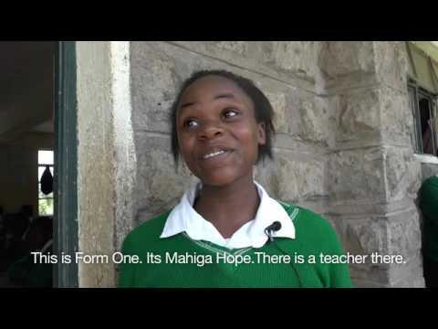 Mahiga Hope High Girls - Performance & School Tour