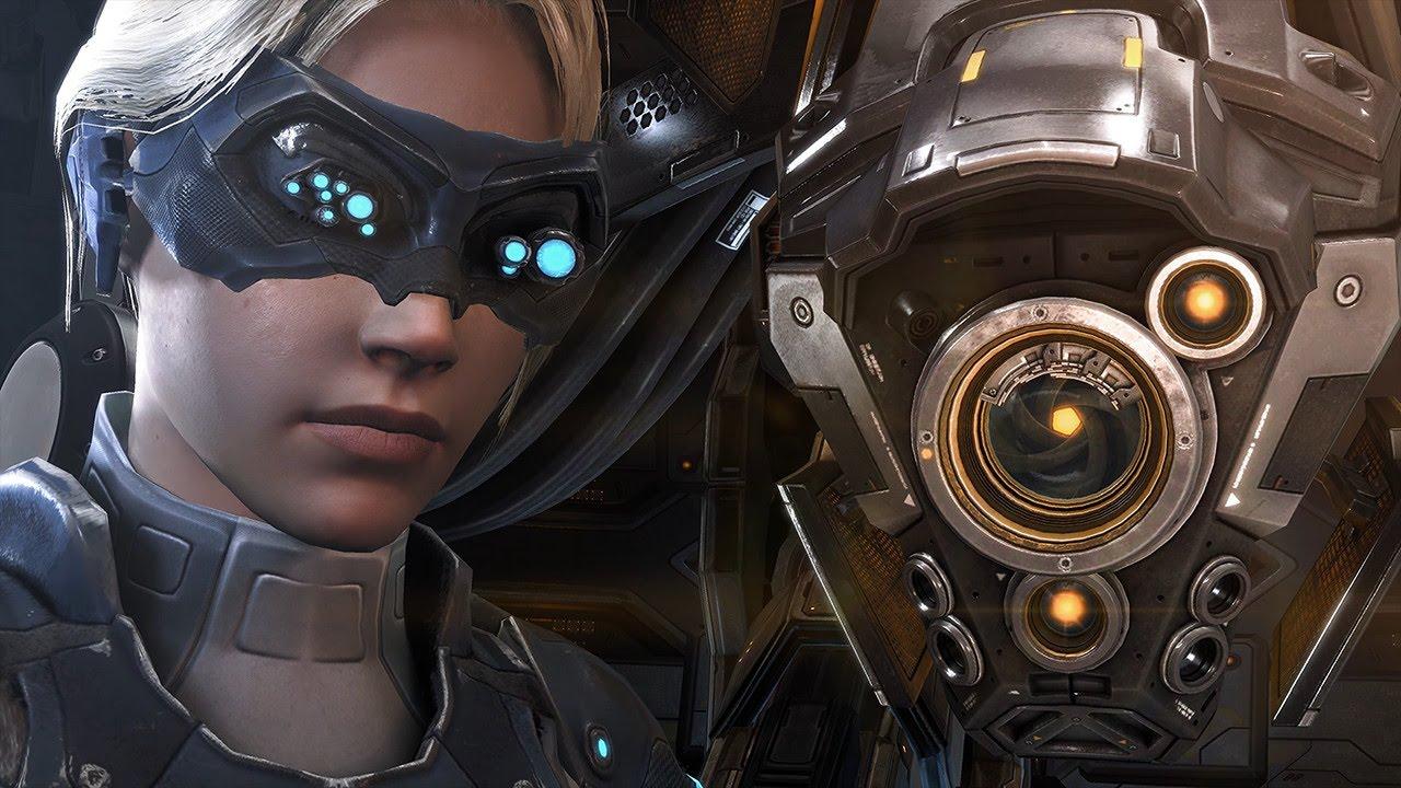 Na obrazovce přihlášení do hry StarCraft II klikněte na tlačítko Možnosti (Options).