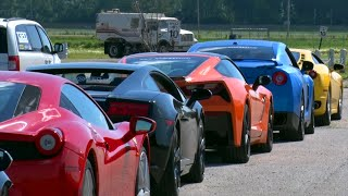 C7 Corvette Stingray vs EXOTICS