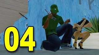 Grand Theft Auto: San Andreas - Part 4 - Brother's Girl (GTA Walkthrough / Gameplay)