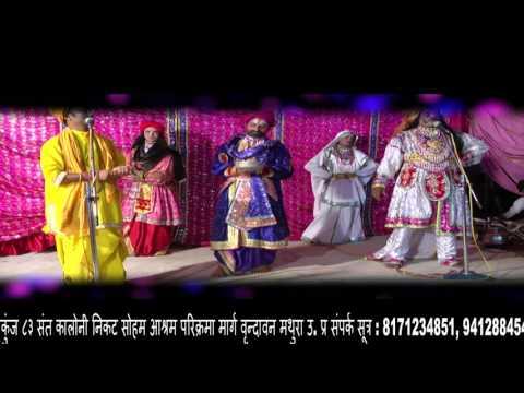 Raslila vrindavan//Meera charitra//Nimbark Krishna lila//Swami Mukut bihari ji