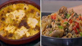 ارز معمر باللحمة المفرومة - شيش طاووق بصوص الليمون و الانشوجة | اتفضلوا عندنا حلقة كاملة